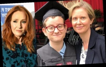 Cynthia Nixon's Transgender Son Finds J.K. Rowling's Controversial Comments 'Really Painful'