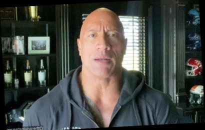 Dwayne Johnson Scares People by Ripping Down Electric Front Gate With Bare Hands