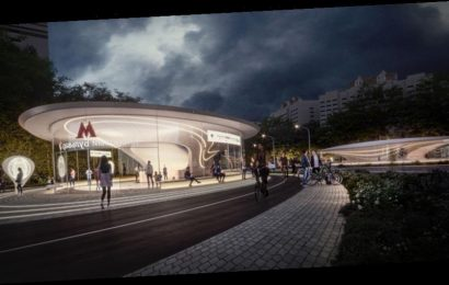 Zaha Hadid Architects to Design Metro Station in Moscow