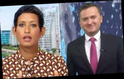 Naga Munchetty queries Matt Taylor's 'naked' post as he details move before BBC appearance
