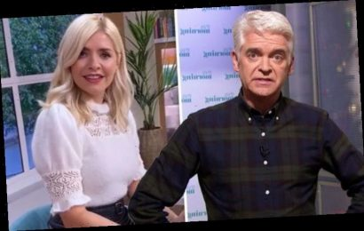 Holly Willoughby: This Morning's Phillip Schofield speechless as co-star fumes 'Shut up!'