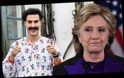 Borat 2: Sacha Baron Cohen was told HORRIFYING Hillary Clinton conspiracies by Trump fans