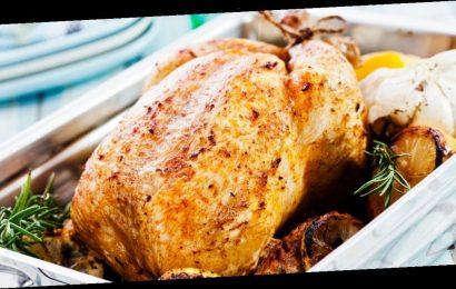 Roast chicken cooking hack gets skin perfectly crispy using £1 ingredient