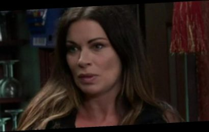 Corrie's Carla Connor distracts fans as she wows in see-through black top