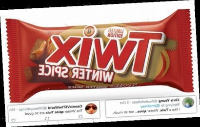 Twix divides opinion after launching a Winter Spice edition