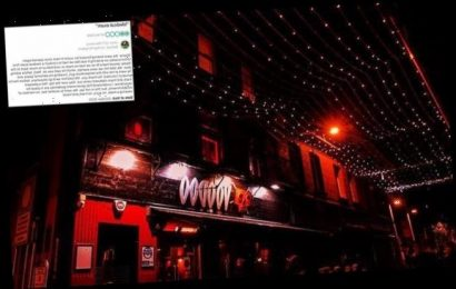 Belfast bar proudly shares review calling it 'medical exam' experience