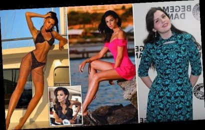 Woman shed 4 STONE before competing for the title of Miss Ukraine