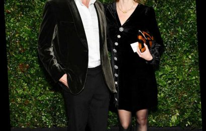 Dominic West And Wife Shut Down Lily James Affair Rumors With Note and Kiss