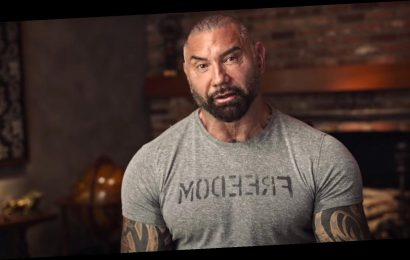 'Guardians Of The Galaxy' Star Dave Bautista Gives Biden A Ringing Endorsement