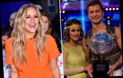 Strictly Come Dancing stars break down in tears over Caroline Flack as show pays tribute to late star
