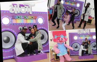 Alesha Dixon celebrates her daughter Azura's 7th birthday with Trolls themed virtual birthday party