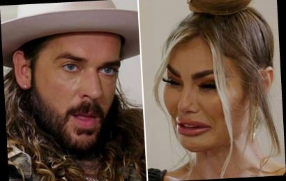 Chloe Sims breaks down in tears as she says she dated men to get revenge on Pete Wicks after he 'f****d up'