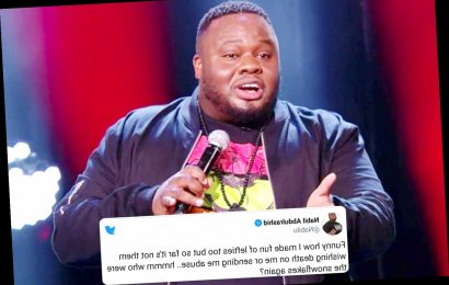 Britain's Got Talent's Nabil Abdulrashid says he's been sent death threats after 733 complained over him mocking racists