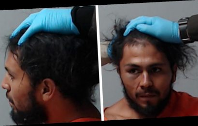 Cops Hold Man's Head Up For Mugshot After They Allegedly Broke His Neck