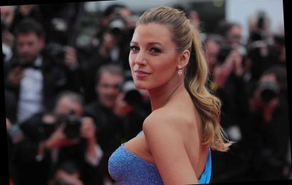Blake Lively Mailed in Her Ballot and Celebrated With a Hilarious Heavily Edited Picture