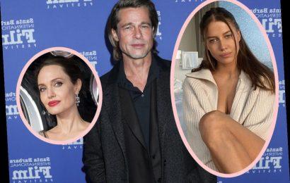 Brad Pitt & His Model GF Break Up As Angelina Jolie Custody Battle Gets More Vicious!