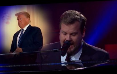 "James Corden Reimagines Paul McCartney's 'Maybe I'm Amazed' For Trump: ""Maybe I'm Immune"""