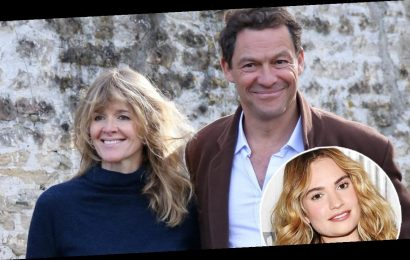 Read Letter Dominic West and Wife Catherine FitzGerald Gave Reporters After Viral Lily James Photos