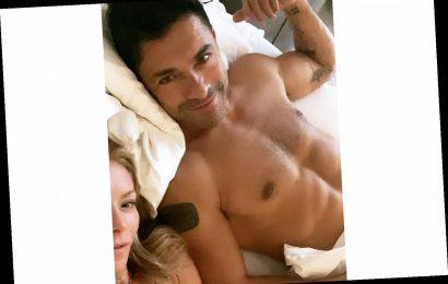 Kelly Ripa Shares Shirtless Snap of Mark Consuelos: 'This Man Eats PB and J'
