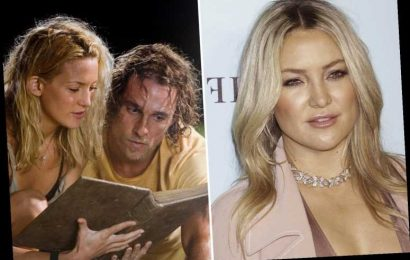 Kate Hudson claims Fool's Gold costar Matthew McConaughey was her WORST onscreen kiss as he had 'snot all over his face'