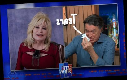 Stephen Colbert Moved To TEARS During Dolly Parton Interview – Watch!