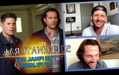 Supernatural Video: Jensen Ackles and Jared Padalecki Reflect on the 'Weighty,' Teary Final Day of Filming