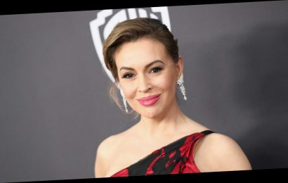Alyssa Milano blasts Donald Trump's drive-by to fans outside Walter Reed Medical Center