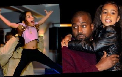 Kim Kardashian reveals Kanye and North West are 2-time reigning champions of a father-daughter dance competition