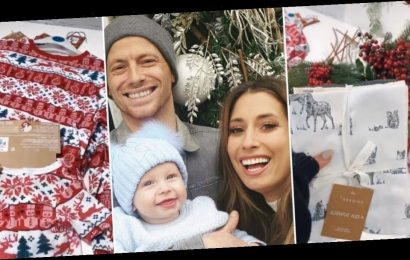Stacey Solomon shows off her festive Primark haul with matching Christmas pyjamas for the family and decorations from just £3
