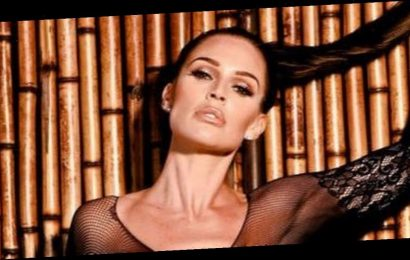 Danielle Lloyd wows in sheer bodysuit as she joins sexy subscription site