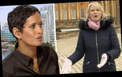 Naga Munchetty apologises to Carol Kirkwood for unprofessionalism 'It's all gone wrong'