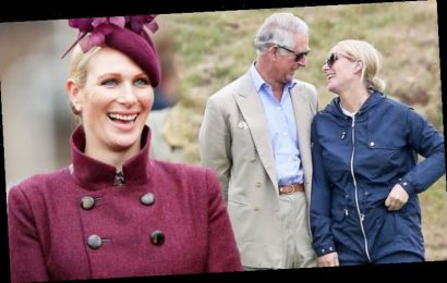 Zara Tindall's 'spontaneous' body language is 'protective' with 'anxious' Prince Charles