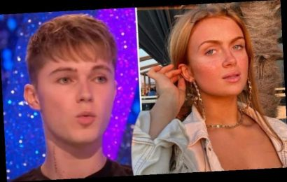 Maisie Smith and HRVY told off by BBC bosses after getting too close amid romance rumours