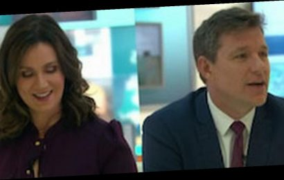 GMB's Ben Shephard and Susanna Reid plunged into darkness after technical fault