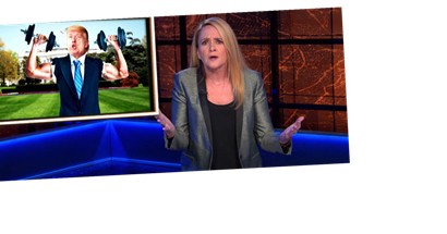 Samantha Bee's Election Celebration Comes With A Sobering Warning