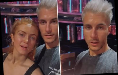 Strictly's Maisie Smith enjoys sweaty rehearsal with Gorka after breaking social distancing rules