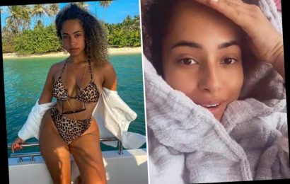 Love Island's Amber Gill is desperate to lose a stone in lockdown after spending weeks in her dressing gown