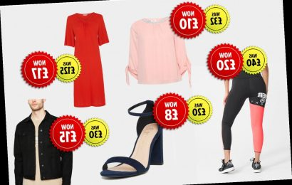 Big fashion chains including New Look and Dorothy Perkins selling leftover stock on eBay for up to 86% off