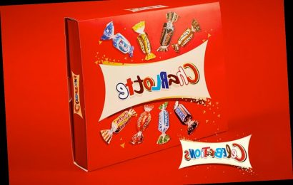 You can now get a Celebrations box with your name on it for Christmas