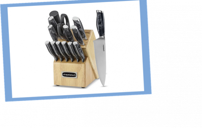Save over 15% on this 15-piece cutlery set from Cuisinart