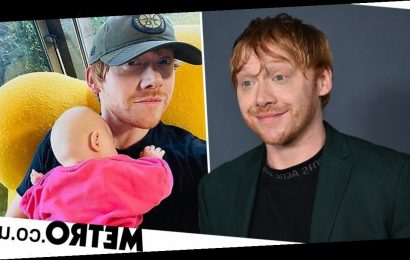 Rupert Grint joins Instagram as he shares sweet photo of baby girl