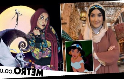 Muslim woman recreates Disney characters and album covers with her hijab