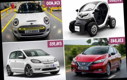 The cheapest electric cars on sale in the UK – from the Nissan Leaf to Mini Electric