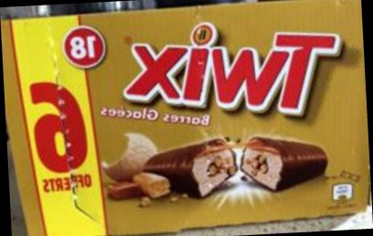 Iceland recalls Twix ice creams over deadly danger to allergy sufferers