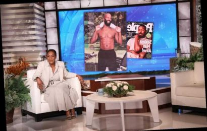 Tiffany Haddish Admires Boyfriend Common's Sexiest Man Alive Photos: 'I Helped Him with Those Abs'