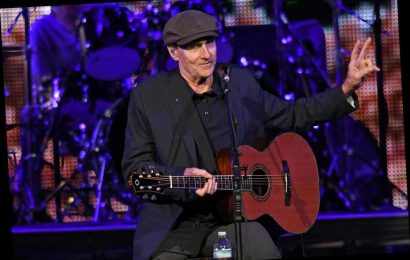 James Taylor Performs 'America the Beautiful' on Election Day