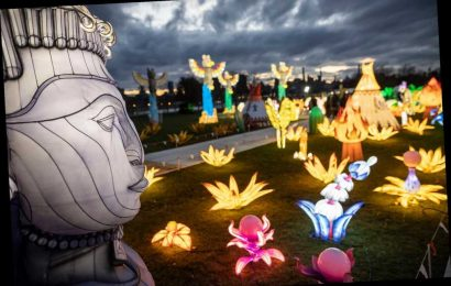 Chinese lantern festival on Randalls Island one of NYC's only large winter events