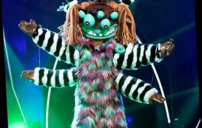 The Masked Singer Unmasks the Squiggly Monster