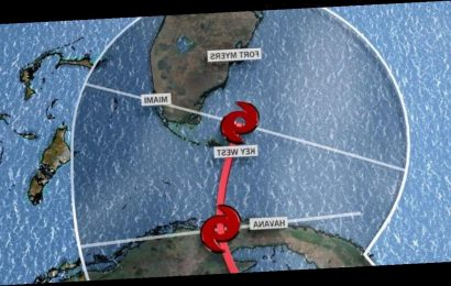 Florida in the path of Eta and it could become a hurricane again