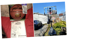 """FedEx driver surprises boy with new basketball hoop: """"There are very much still good people in the world"""""""